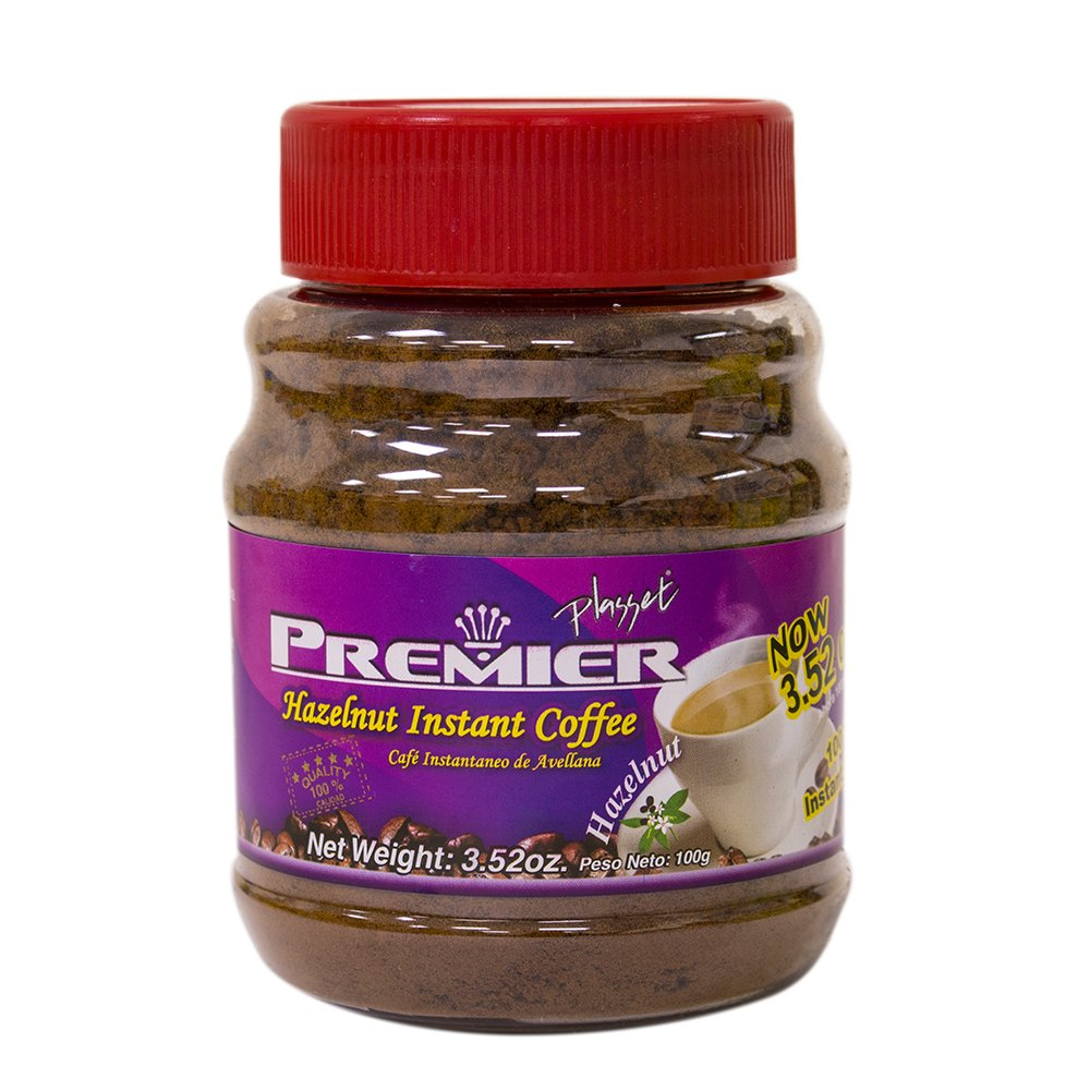 Amazon.com : Premier Instant Coffee, Hazelnut, 3.52 Ounce (Pack of 12) : Grocery & Gourmet Food