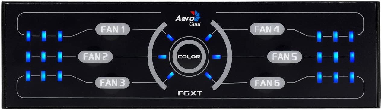 Aerocool Fan Controller (F6XT)