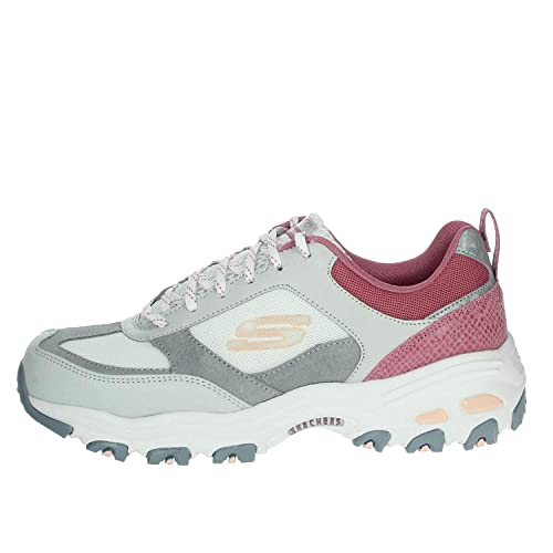 Skechers Damen Sneaker D´Lites Fan Love GrauPink: