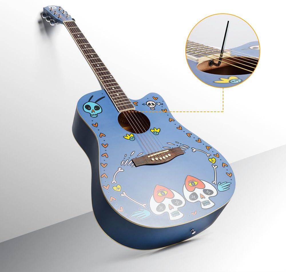 Vangoa VGKallo Original - Guitarra acústica de tamaño completo con ...