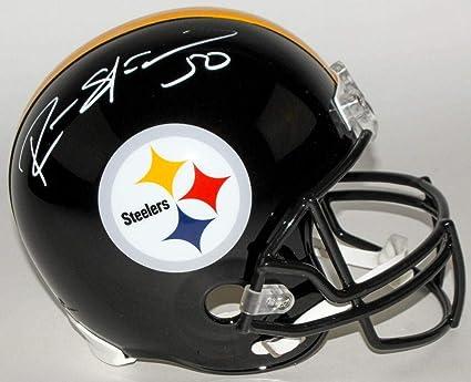 b2a3bfb9c Ryan Shazier Autographed Helmet - Full Size TSE Signing - Autographed NFL  Helmets