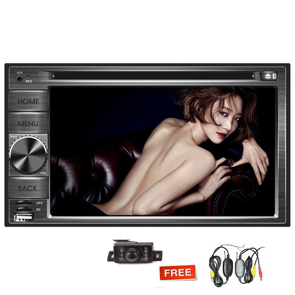 Android 7.1 System in Dash Car GPS DVD Player Car Stereo Double Din Octa Core Car Deck Navigation Vehicle Headunit for Universal Car Bluetooth Free Map Wifi Mirrorlink Wireless Backup Camera