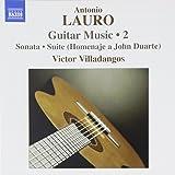 Antonio lauro musique pour guitare (volume 2)