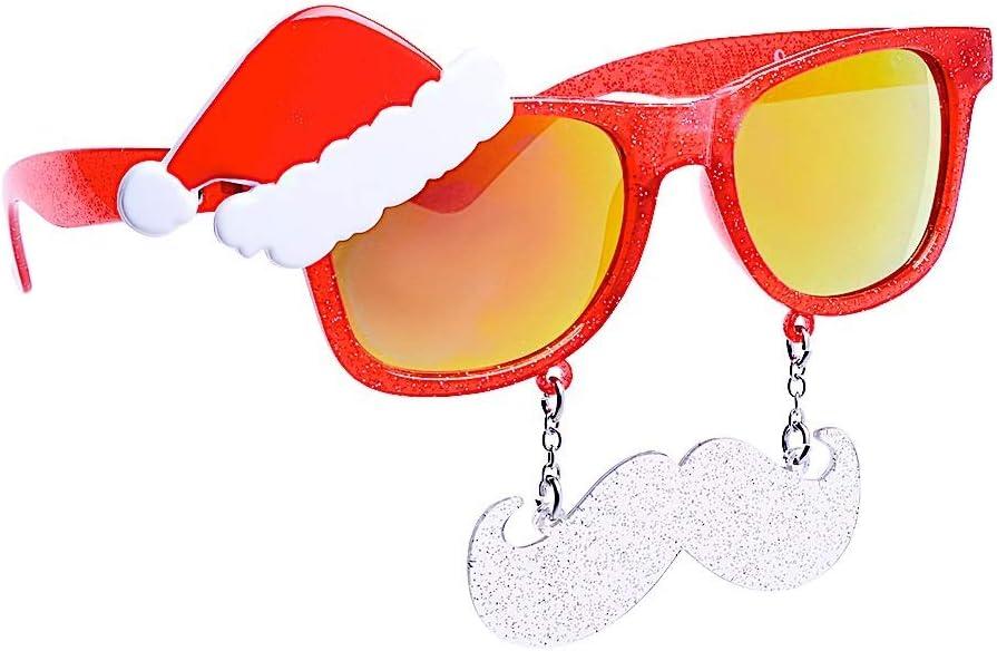 SunStaches Sun Glasses Santa Sunglasses fnt