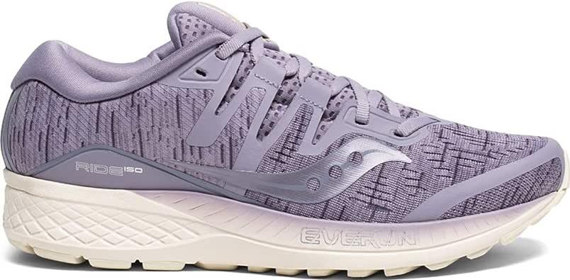 Amazon Com Saucony Ride Iso Purple Shade 11 Shoes