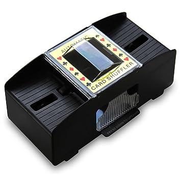 Mezclador automático de cartas Eléctrico Para dos juegos de ...