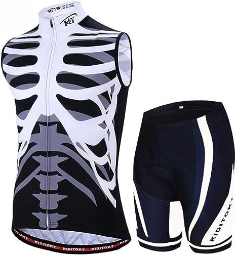 Sddlng Jersey de Bicicleta de montaña - Pantalón de pantalón 3D de ...