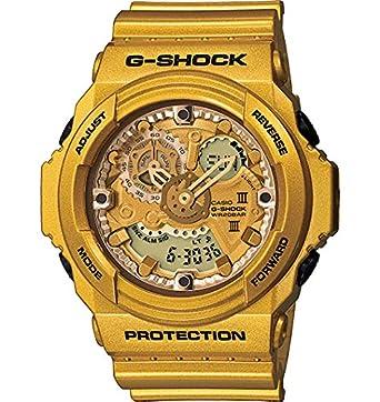 amazon com casio g shock gold tone resin mens watch ga300gd 9a casio g shock gold tone resin mens watch ga300gd 9a