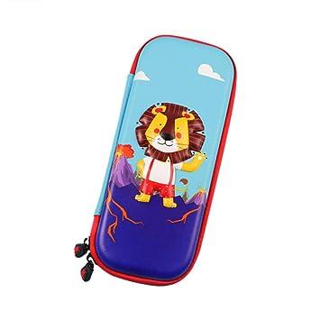animé enfants Pen boîte EVA Grande Dessin Glossy Trousse Animal dTd6aF