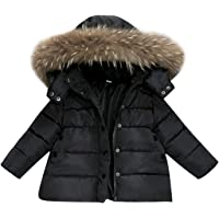 De feuilles Chic-Chic Kids Baby Boys Winter Hoodie Hooded Puffer Coat Warm Thicken Down Jacket Outwear