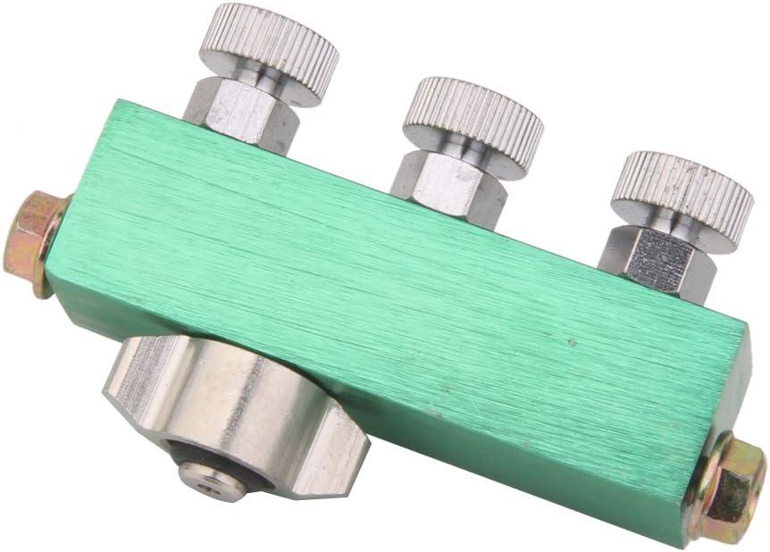 Jili Online Pro 3 Way Airbrush Air Hose Splitter 1//4 to 1//8