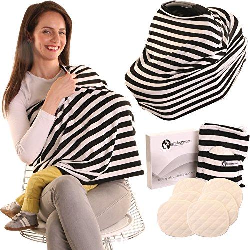 zebra car seat canopy cover - 7