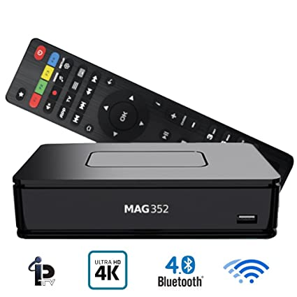 Mag 351 / 352 Set-Top-Box IPTV Premium Linux - 4K UHD