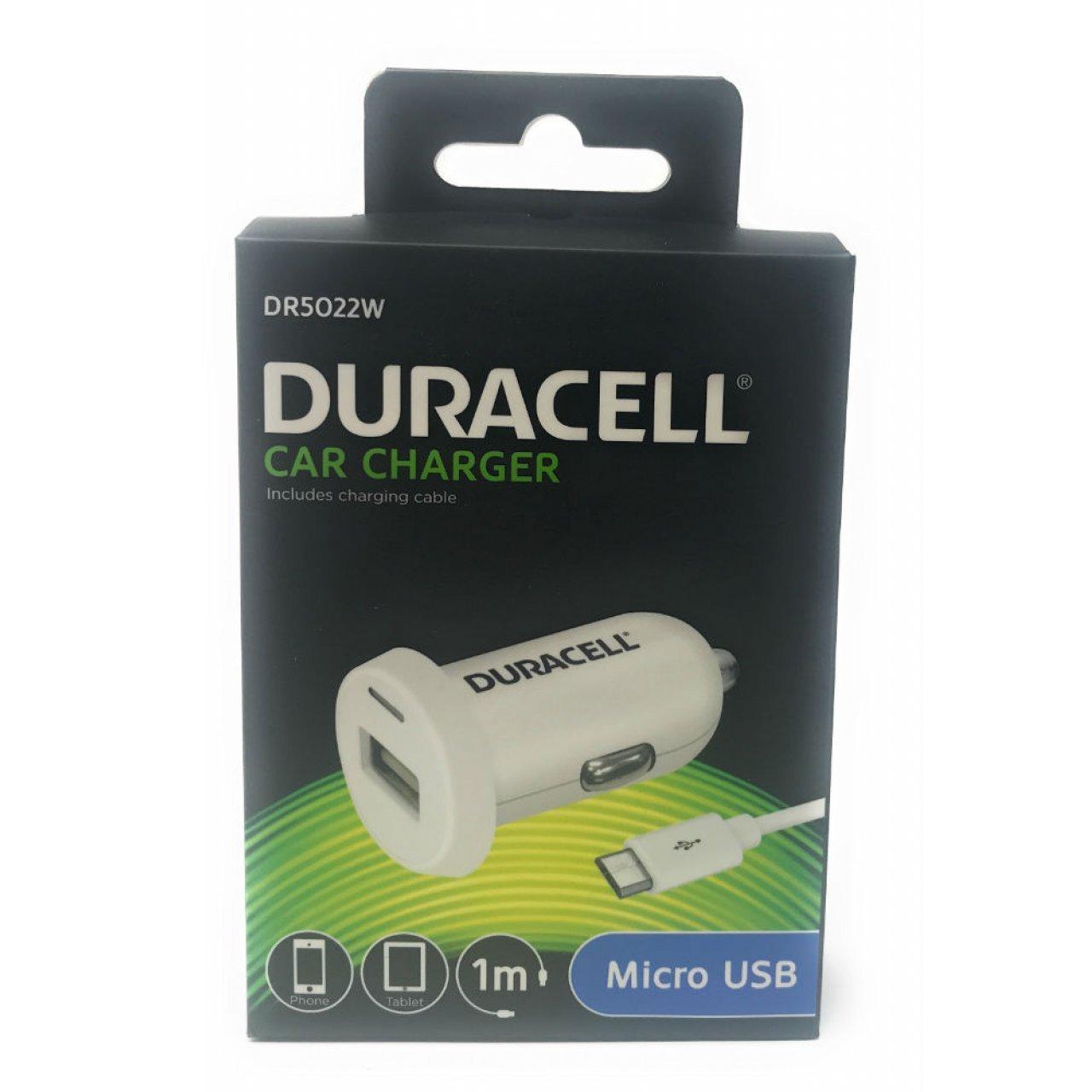 Duracell Cargador Adaptador de Coche con Micro-USB 2,4A ...