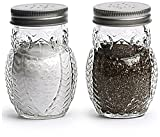 Circleware Owl Glass Salt and Pepper Shakers, Set of 2, 5 ounce For Sale