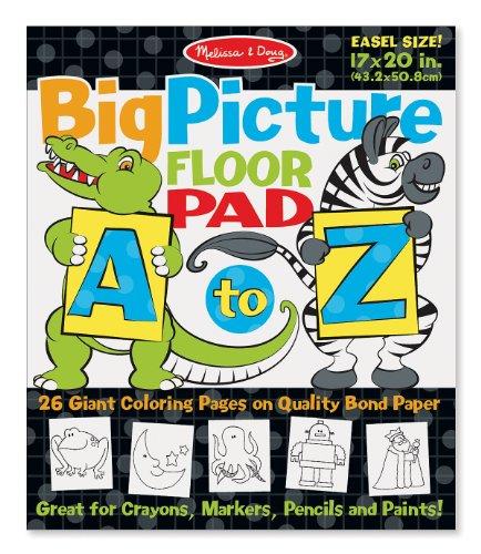 Melissa Doug A Z Easel Pad product image
