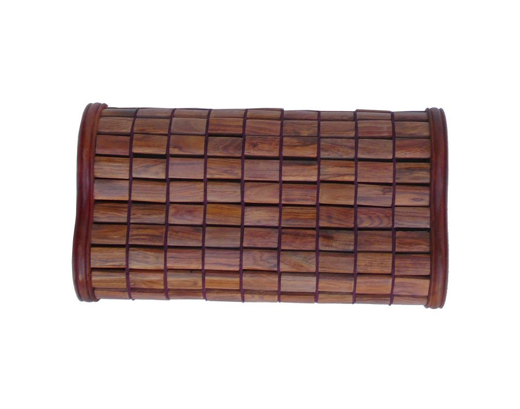 Quality Handmade Chinese Huanghuali Rosewood Pillow afs700 by Golden Lotus (Image #2)