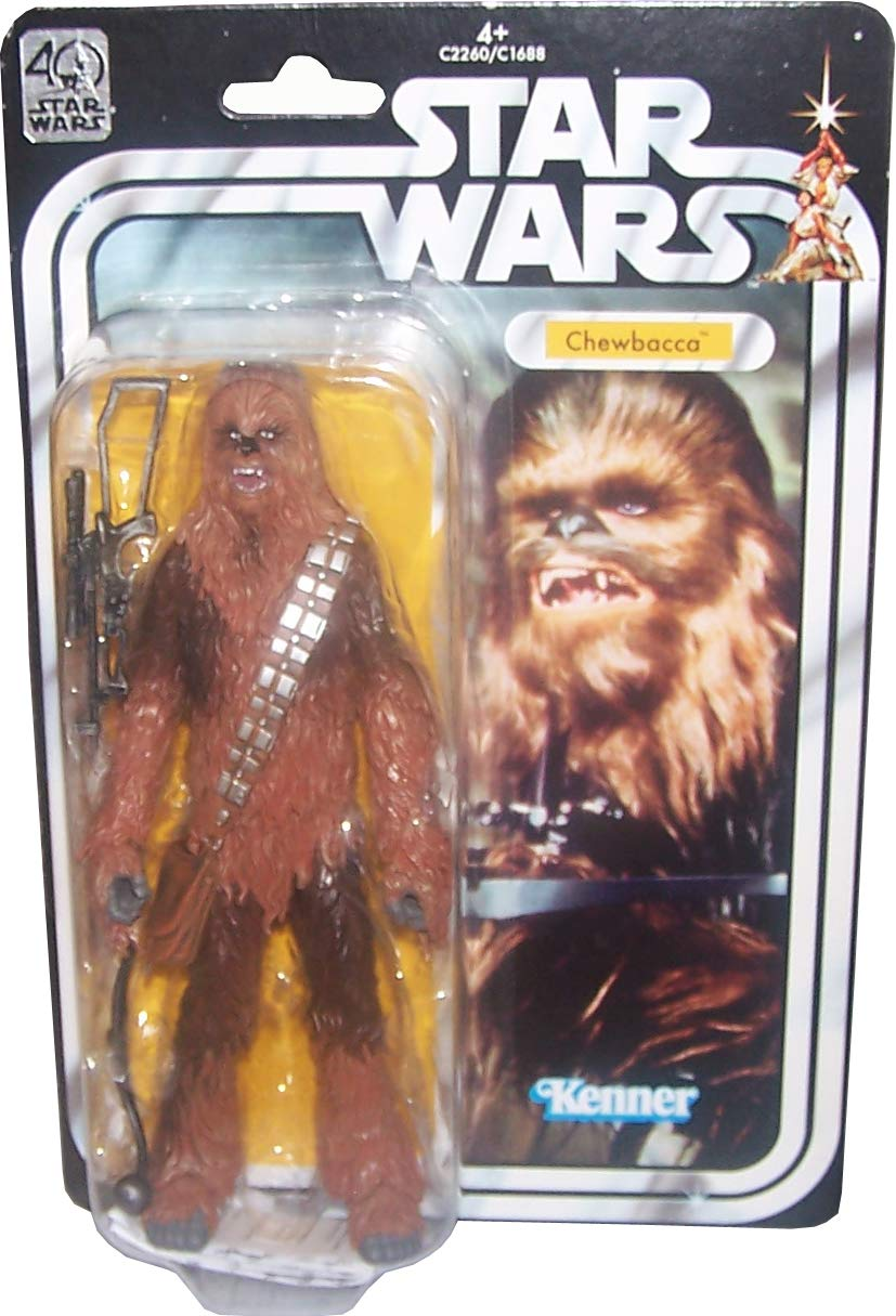 STAR WARS 40th Anniversary Authentic Looking Action Figur CHEWBACCA
