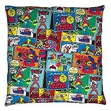 Power Rangers Pattern Throw Pillow White 18X18