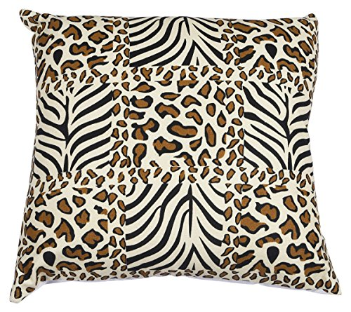 SouvNear Throw Pillow Cover with Leopard Print - 18X18