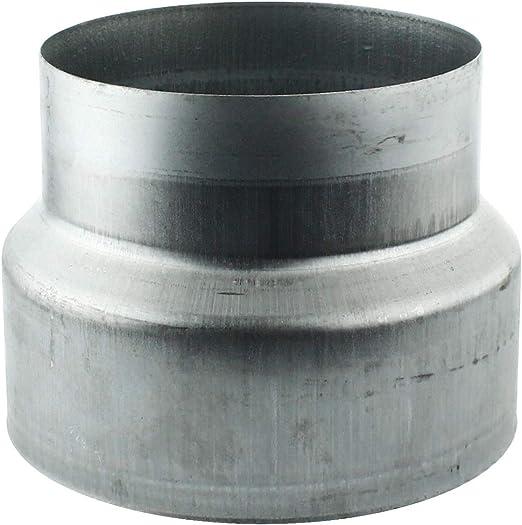 L/änge 1 m Wickelfalzrohr Stahl L/üftungsrohr verzinkt System /Ø 100