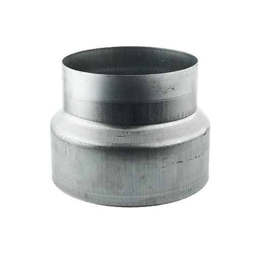MKK/ /18112/ /Pieza reductora Reducci/ón aluminio Flex Tubo Flex Tubo Wick de ventilaci/ón ELF ALZ Tubo galvanizado