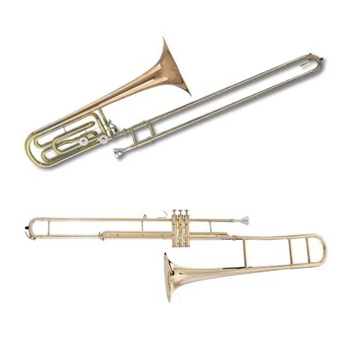 Trombone Two Pack | Bass Trombone & Valve Trombone Bundle