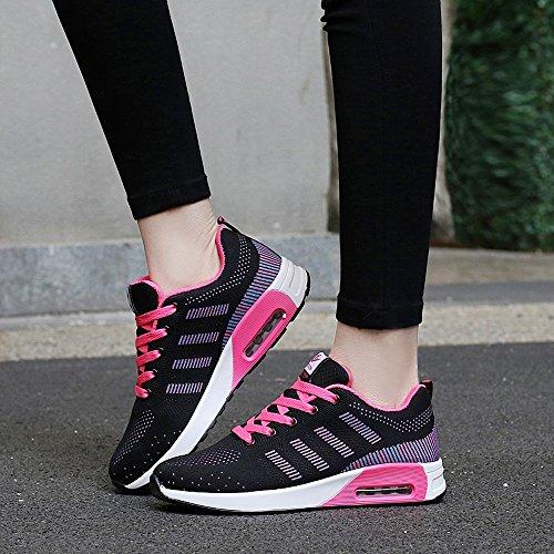 Zr627heise39 Enllerviid Donna Mesh Air Max Sport Scarpe Da Corsa Moda Walking Sneakers Nere 7 B (m) Us