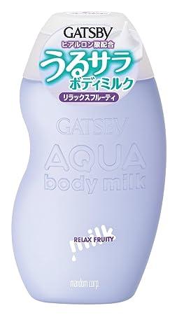 MANDOM Gatsby Aqua Body Milk, Relax Fruity
