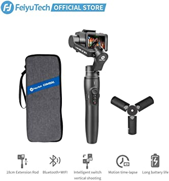3 Axis Shockproof Portable Handheld Gimbal Stabilizer Action Camera for GoPro for OSMO Film Maker Youtuber Pro Video Stabilizer
