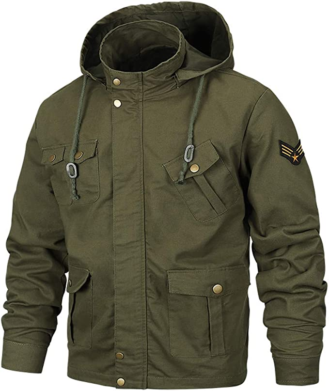 Herren Herbst Winter Mäntel Casual Military Equipment