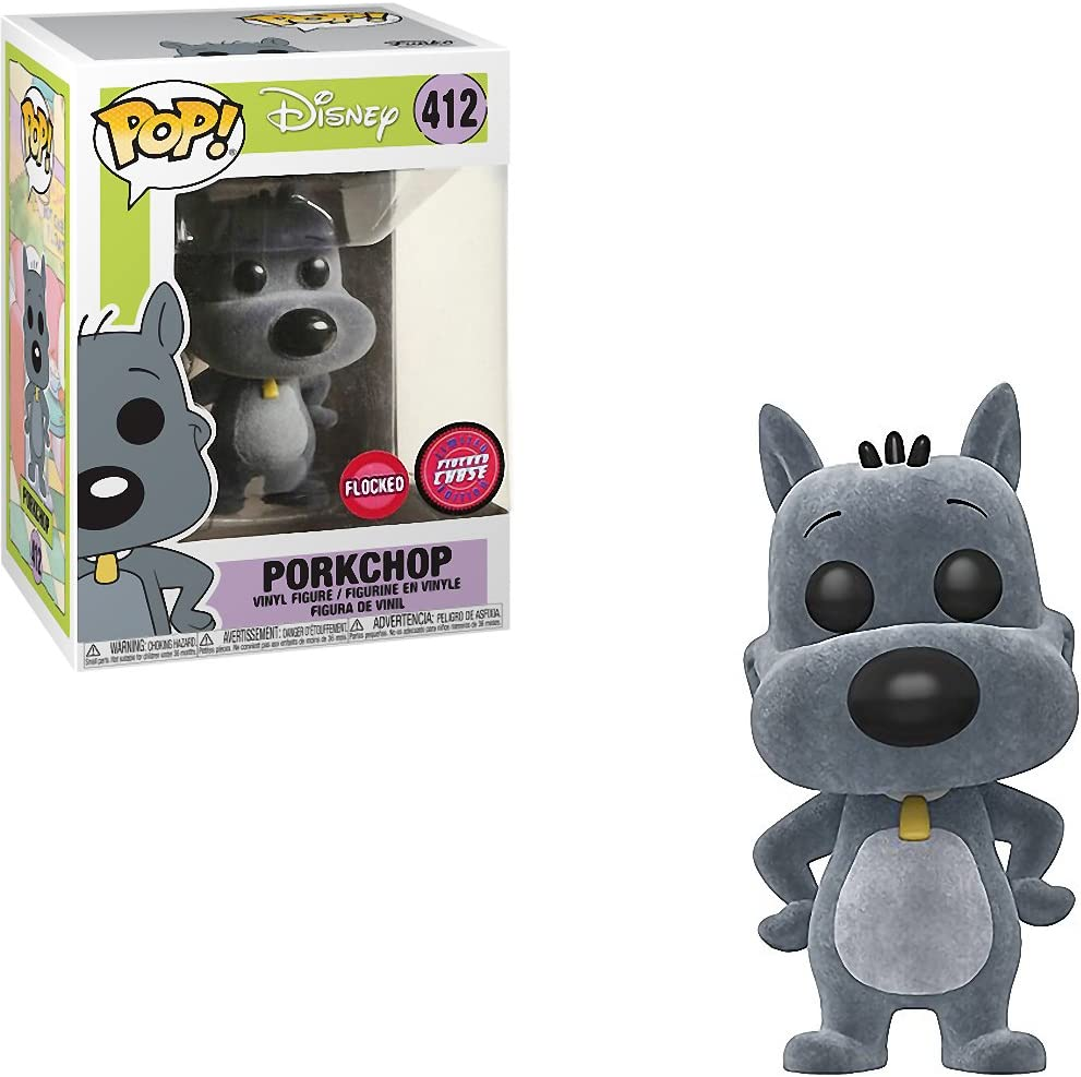 Disney: Doug Bundled with Pop BOX PROTECTOR CASE Porkchop Vinyl Figure Funko Pop