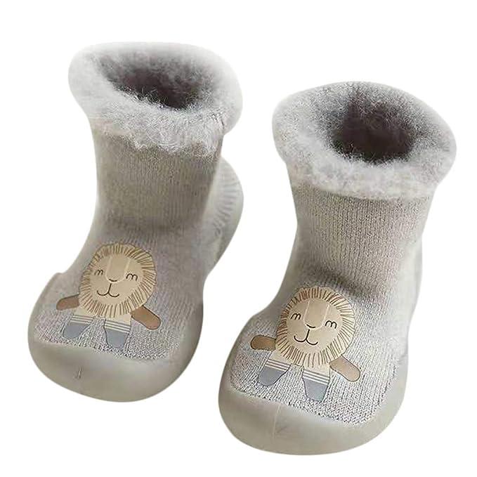 2ac4b487a4a53 Zerototens Baby Slipper Socks Toddler Kids Cartoon Rabbit Anti-Slip Floor  Socks Boots Socks Walking Shoes For 0-3 Years Old