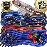 1000 watt amp install kit - Complete 1000W Gravity 8 Gauge Amplifier Installation Wiring Kit Amp PK3 8 Ga Blue - For Installer and DIY Hobbyist - Perfect for Car/Truck/Motorcycle/RV/ATV