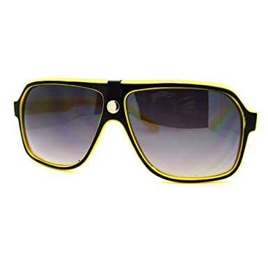 Amazon.com: Mens anteojos de sol retro moda con parte ...
