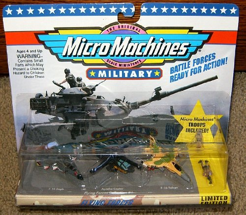 Combat Force Micro Helicopter - Micro Machines Flying Forces #1 Military Collection