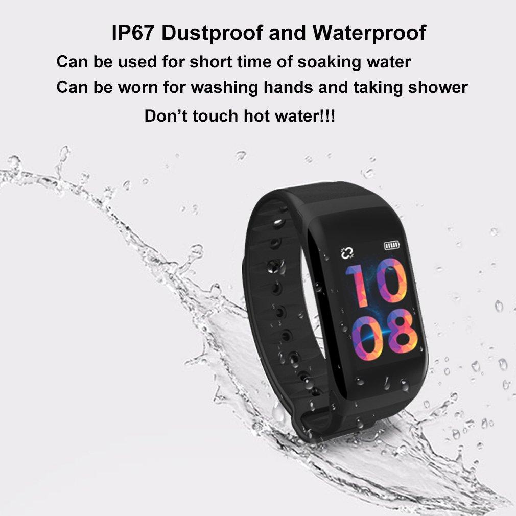 Amazon.com: Monitor de fitness, frecuencia cardíaca, presión ...