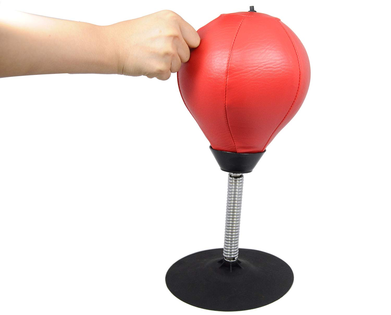 Earlybird Savings Ordinateur de Bureau Mini Perforation Boule Boule de Relaxation de Poinçonnage pour soulager Le Stress avec Gratuit Gonfleur