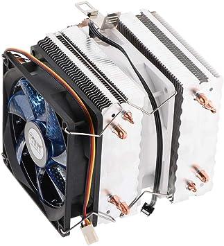 Gazechimp CPU Cooler Copper Heatpipe 92 * 92 * 25mm Radiador De ...