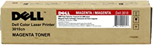 Dell XH005 OEM Toner - 3010CN Magenta Toner (OEM# 341-3570) (2000 Yield) OEM