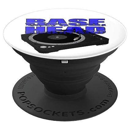 Amazon com: Base Head PopSocket Grip EDM House Dance Rave