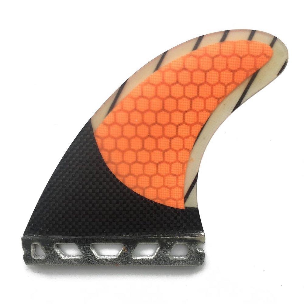 UPSURF Surfboard fins Future Honeycomb+Carbon+Fiberglass Tri fin Green G7