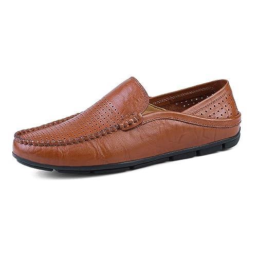 Zapatos de Hombre Mocasines de Moda para Hombre Suela Wave Soft y Super Wakeful Slip On