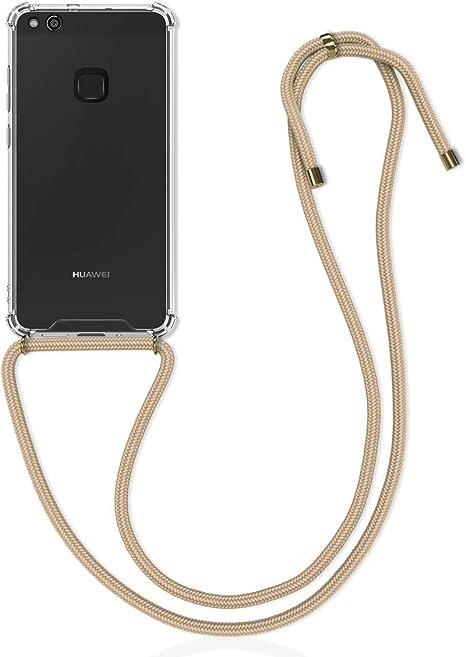 kwmobile Funda con Cuerda Compatible con Huawei P10 Lite: Amazon.es: Electrónica