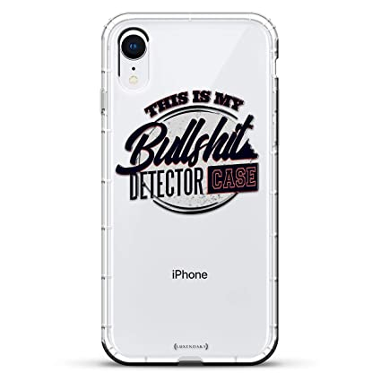 BullSht Detector | Luxendary Air Series Clear Silicone Case with 3D printed design and Air-