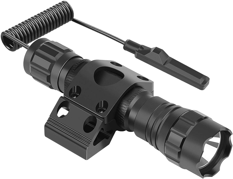 FL14 Feyachi FL9 FL11 FL17 Tactical Flashlight Remote Switch Mount Picatinny