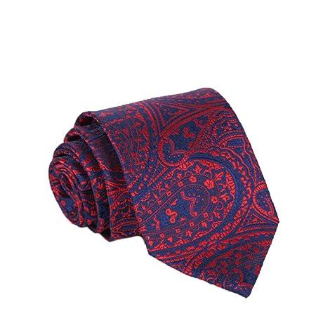 LG GL Corbata para Hombres, Toalla de Bolsillo, anacardo, Lazo de ...