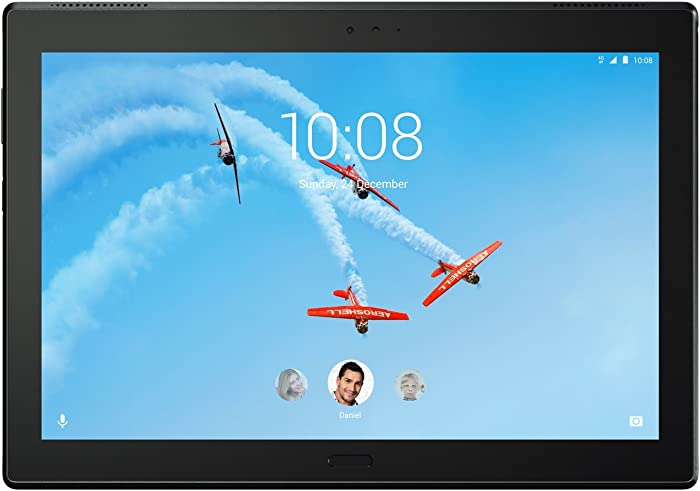Lenovo Tab 4 Plus, 10-Inch Android Tablet, 64-bit Octa-Core Snapdragon, 2.0 GHz, 64 GB Storage, Black, ZA2T0003US