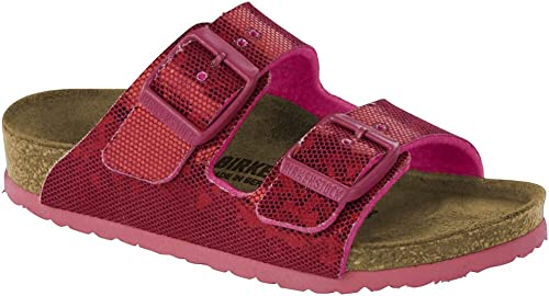 Birkenstock Arizona Kids Hologram Pink Birko Flor Sandal
