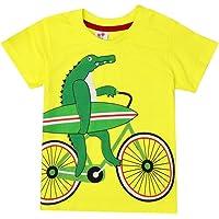 8bdd5c681 Zolimx Ropa de Bebé Niño Niñas Camisetas de Manga Corta Blusa de Camiseta  de Impresión de